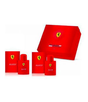 Cofanetto Ferrari Red - Eau de Toilette 75 ml + After Shave 75 ml