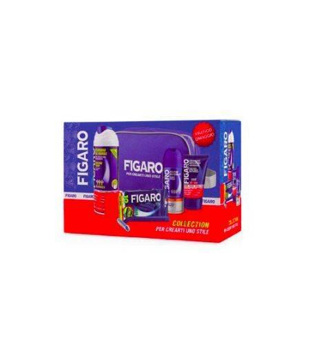 Cofanetto Classico - Schiuma da Barba + Crema Viso Dopobarba + Parfum Deodorant + Rasoi Usa e Getta + Pochette
