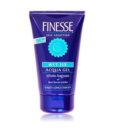 Gel capelli wet fix effetto bagnato fissaggio lunga durata acqua 150 ml idea bellezza - Gel effetto bagnato ...