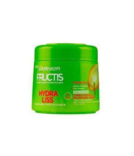 Hydra Liss - Maschera per Capelli Difficili da Lisciare, Crespi 300 ml