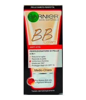 BB Cream Anti-Eta' Perfezionatore di Pelle 5 in 1 Medio Chiara 50 Ml
