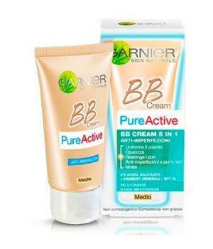 Pure Active BB Cream 5 in 1 AntiImperfezioni Colore Medio