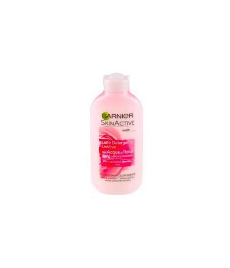 Latte Detergente Lenitivo con Acqua di Rosa per Pelli Secche o Sensibili 200 ml