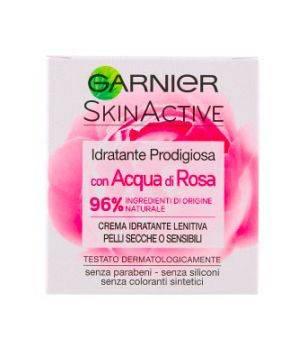 Idratante Prodigiosa con Acqua di Rosa Crema Idratante Lenitiva per Pelli Secche 50 ml