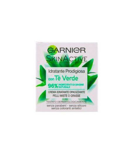 Idratante Prodigiosa con Tè Verde Crema Viso Idratante Opacizzante per Pelli Miste 50 ml