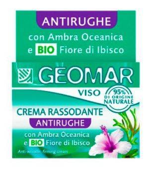 Crema Naturale Per Il Viso Rassodante Antirughe Con Ambra Oceanica 50 Ml