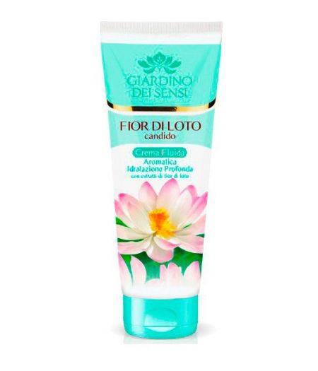 Crema fluida  Aromatica  Al Fiorie Di Loto Candido 250 Ml