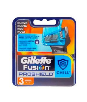 Fusion ProShield Chill - 3 Lame di Ricambio
