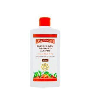 Bagno Schiuma Erboristico al Karite' Super Idratante e Nutriente 400 ml