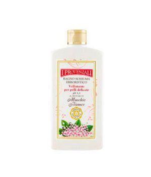 Bagno Schiuma Erboristico al Profumo di Muschio Bianco 400 ml