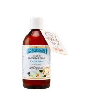 Olio di Mandorle Profumato alla Magnolia - Olio Corpo 200 ml