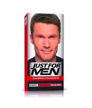 Shampoo Colorante Per Uomo Castano Medio