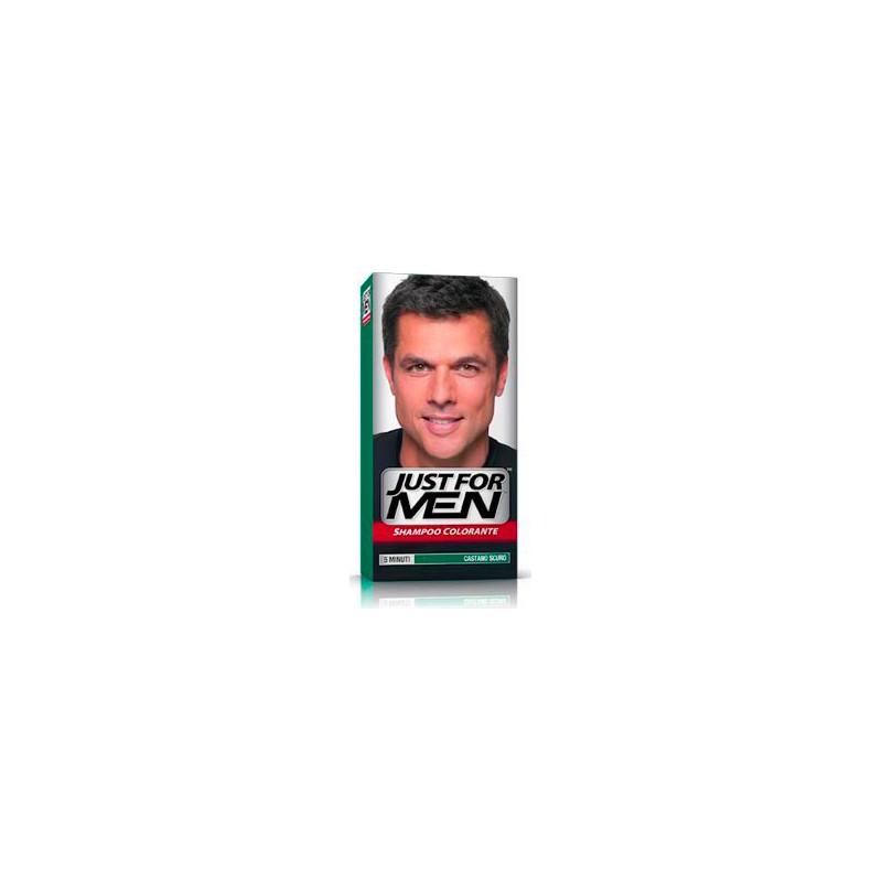 Shampoo Colorante Per Uomo Castano Scuro - Idea Bellezza f623335f4f57