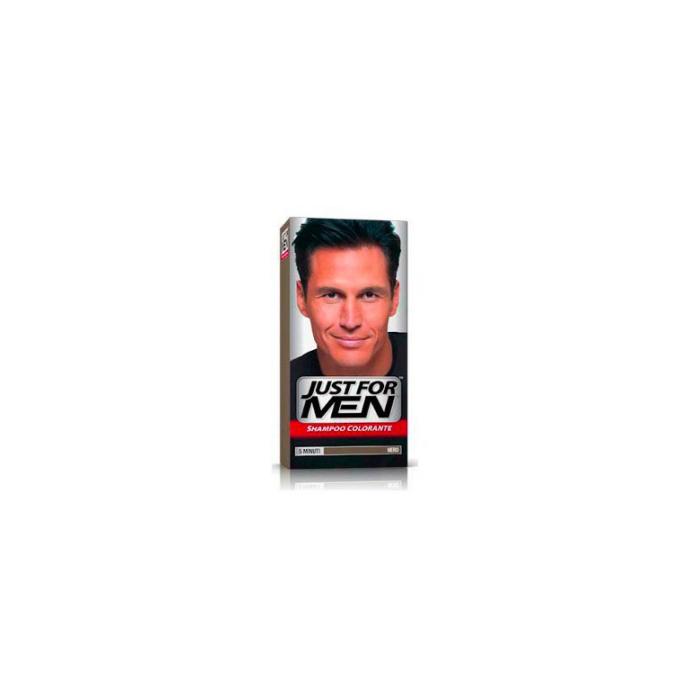 Shampoo Colorante Per Uomo Nero Naturale. Next. Attenzione  ultimo articolo  disponibile! Disponibile dal  Just for Men 678df10482ca