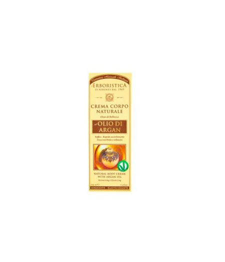 Crema Corpo Naturale all'Olio di Argan 200 ml