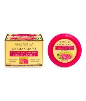 Crema Corpo con Olio di Macadamia e Burro di Karite' 200 ml