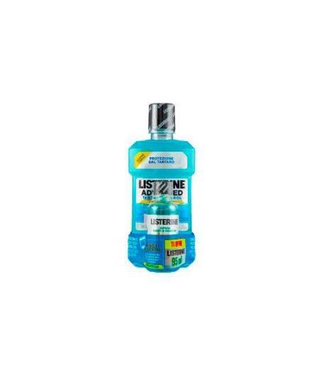 Colluttorio Advanced Tartar Control 500 ml + Listerine Difesa Denti e Gengive 95 ml