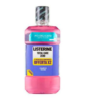 Colluttorio Total Care Zero Bipacco  2 x 500 ml