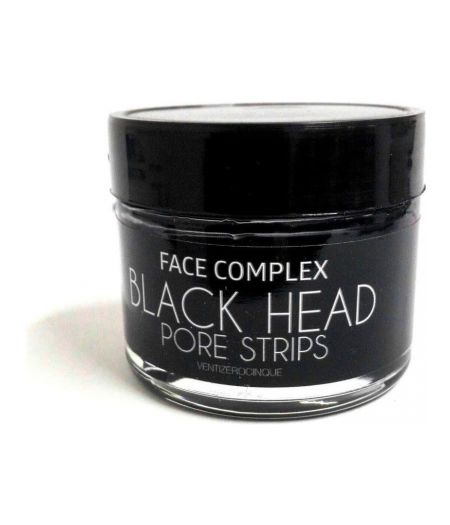 Face Complex Black Head Pore Strips - Maschera Nera contro i Punti Neri 50 ml