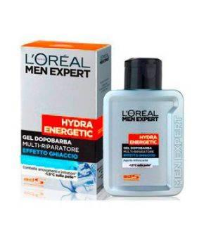 Men Expert Hydra Energetic Gel Dopobarba Multi-Riparatore Effetto Ghiaccio 100 ml