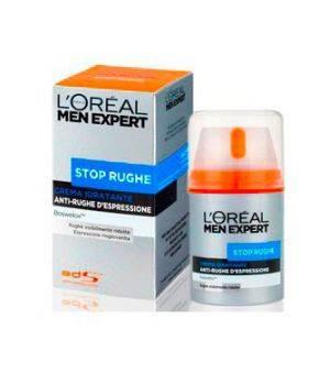 Men Expert Stop Rughe Crema Idratante Anti-Rughe d'Espressione 50 ml