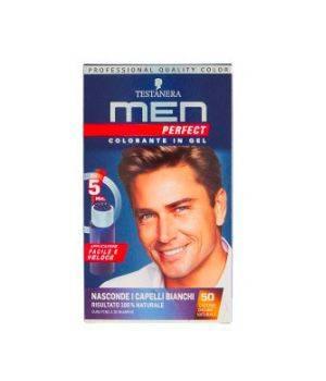 Men Perfect Colorante in Gel 50 Castano Chiaro Naturale