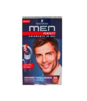 Men Perfect Colorante in Gel 70 Castano Scuro Naturale