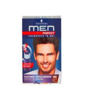 Men Perfect Colorante in Gel 80 Castano Nero Naturale
