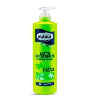 Latte Detergente Nutriente Purificante Tiglio E Malva 500 Ml