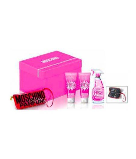Cofanetto Fresh Pink - Eau de Toilette 100 ml + Bath Shower Gel 100 ml + Body Lotion 100 ml + Manicure Set