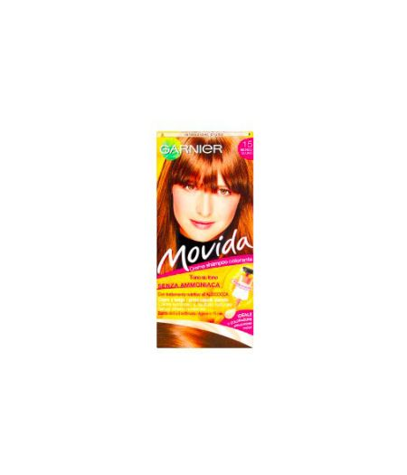 Movida Crema Shampoo Colorante 15 Biondo Scuro