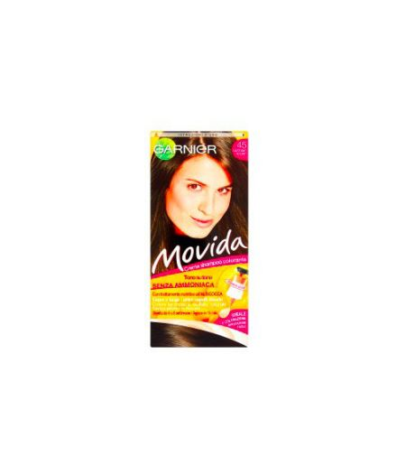 Movida Crema Shampoo Colorante 45 Castano Scuro