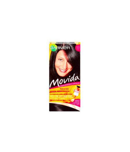 Movida Crema Shampoo Colorante 55 Nero