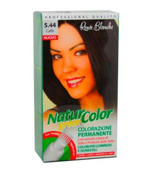 Tinta Per Capelli Colorazione Permanente Naturale Natur Color Green 544  Caffe'