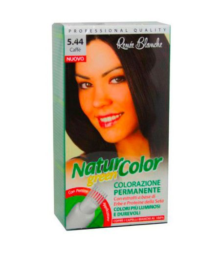 Tinta Per Capelli Colorazione Permanente Naturale Natur Color Green 544  Caffe'