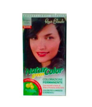 Tinta  Per Capelli Colorazione Permanente Naturale Natur Color Greenmogano Scuro Mogano Scuro