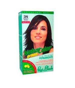 Tinta  Per Capelli Colorazione Permanente Naturale Natur Color Green3 N Castano Scuro