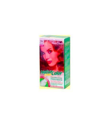 Tinta  Per Capelli Colorazione Permanente Naturale Natur Color Green7 N  Biondo