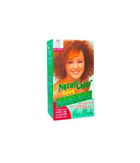 Tinta  Per Capelli Colorazione Permanente Naturale Natur Color Green8 R Biondo Chiaro Ramato