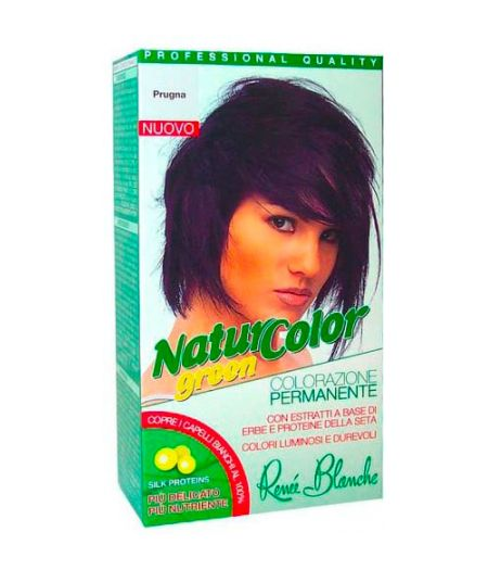 Tinta  Per Capelli Colorazione Permanente Naturale Natur Color Greenprugna Prugna