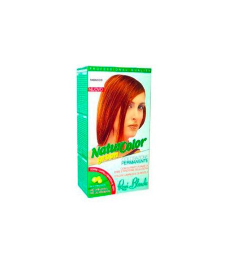 Tinta  Per Capelli Colorazione Permanente Naturale Natur Color Greentabacco  Tabacco