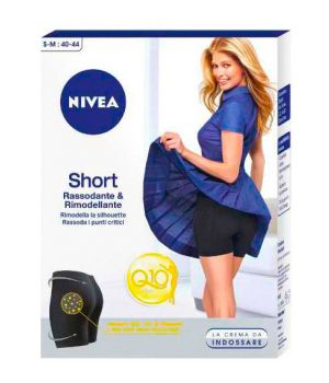 Body Short - Pantaloncino Rassodante & Snellente Taglia S -M