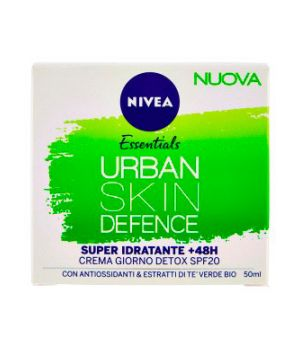 Essentials Urban Skin Defence Crema Giorno Detox SPF20 50 ml