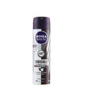 Men 48h Invisible for Black & White Original - Deodorante Spray 150 ml