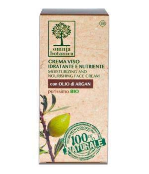 Crema Viso Idratante e Nutriente con olio di Argan Purissimo 50 ml