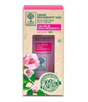 Crema Rigenerante Viso con olio di Rosa Mosqueta 30 ml