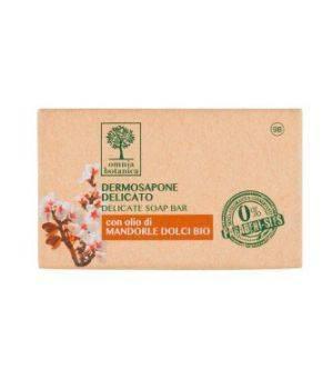 Dermosapone Delicato con olio di Mandorle Dolci Bio 100 g