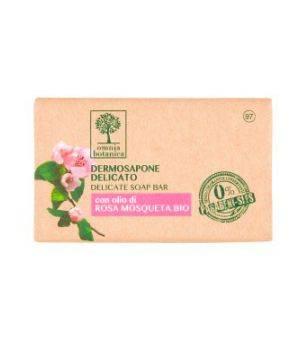 Dermosapone Delicato con olio di Rosa Mosqueta Bio 100 g