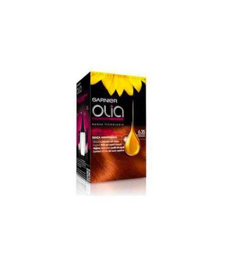 Olia Colorazione Permanente Senza Ammoniaca 6.35 Castano Chiaro Cioccolato