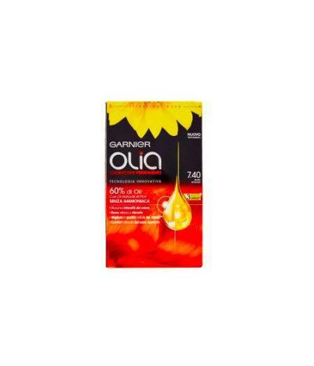 Olia Colorazione Permanente Senza Ammoniaca N.7.40  Rame Intenso